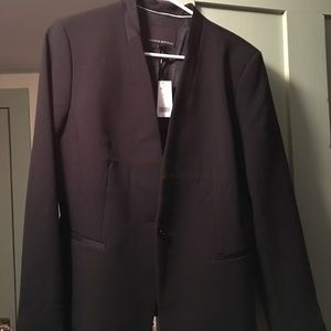 Banana Republic Black Tuxedo Style Suit Jacket